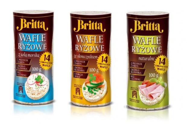 Wafle ryżowe marki Britta
