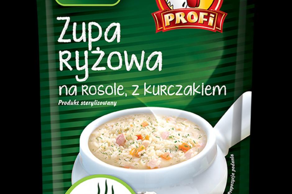 Zupa ryżowa marki Profi