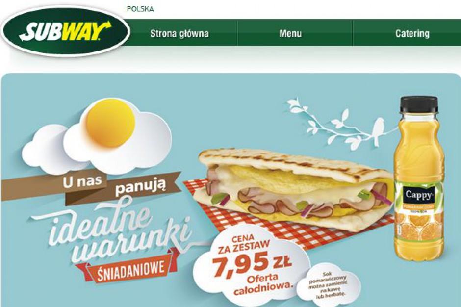 Subway w rok uruchomił w Polsce 13 lokali