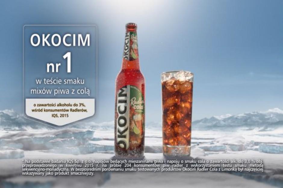 Nowy Okocim Radler Cola z limonką z kampanią telewizyjną
