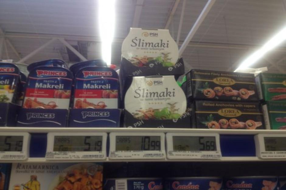 Polish Snail Holding wprowadza puszki z mięsem ślimaków