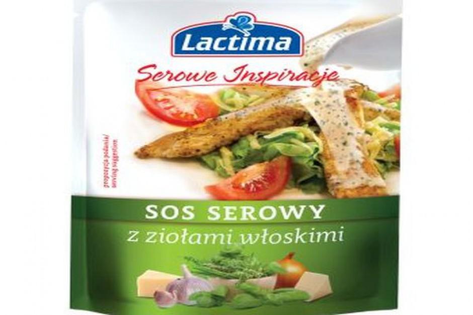 Sosy z linii Serowe Inspiracje marki Lactima
