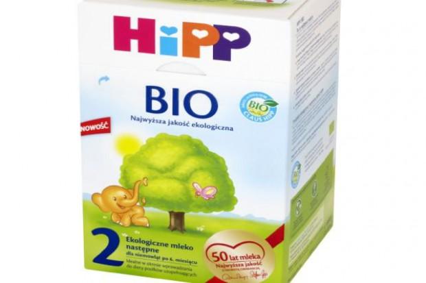 Nowe mleko marki HiPP BIO
