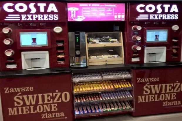 Kawomaty Costa Express na stacjach Lotos