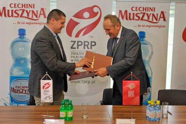 Cechini Muszyna oficjalną wodą Związku Piłki Ręcznej w Polsce