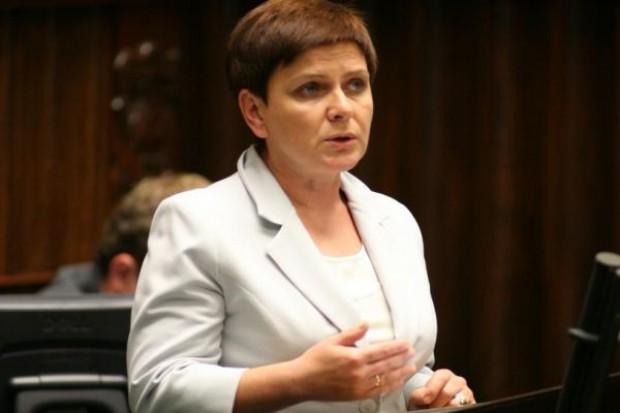 Beata Szydło: Opodatkowanie sieci nie przełoży się na wzrost cen