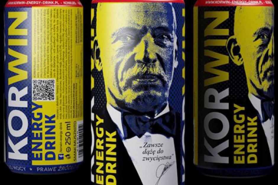 Nowość na rynku energetyków - Korwin Energy Drink