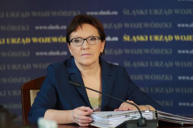 Ewa Kopacz kupuje w Biedronce i chwali ofertę sieci
