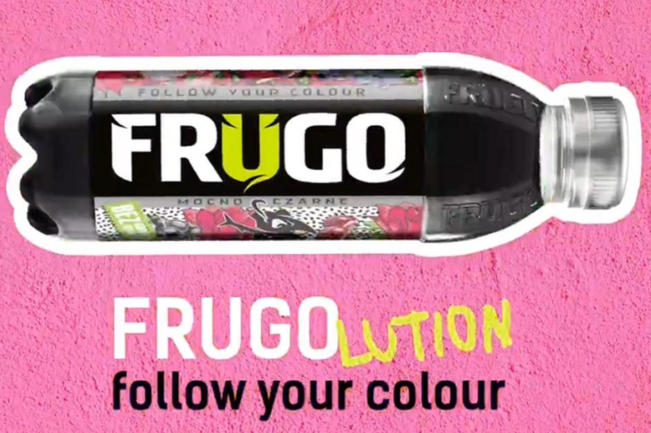 Frugo odświeża logotyp, etykietę i hasło reklamowe