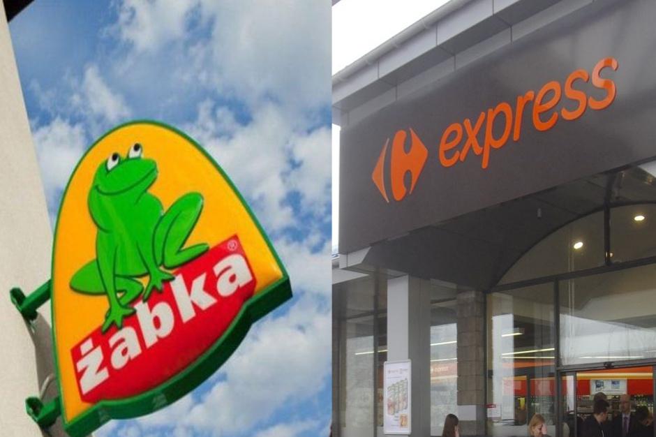 Żabka i Carrefour Express zmonopolizowały centrum Warszawy