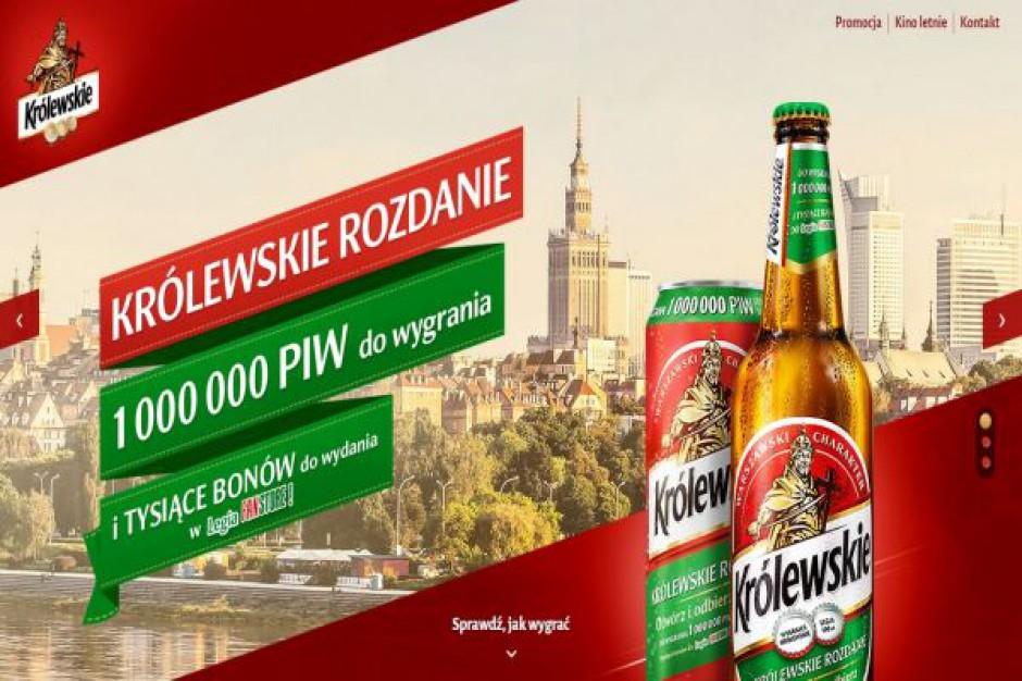 Królewskie promuje sprzedaż piwa loterią z pulą 1 mln piw