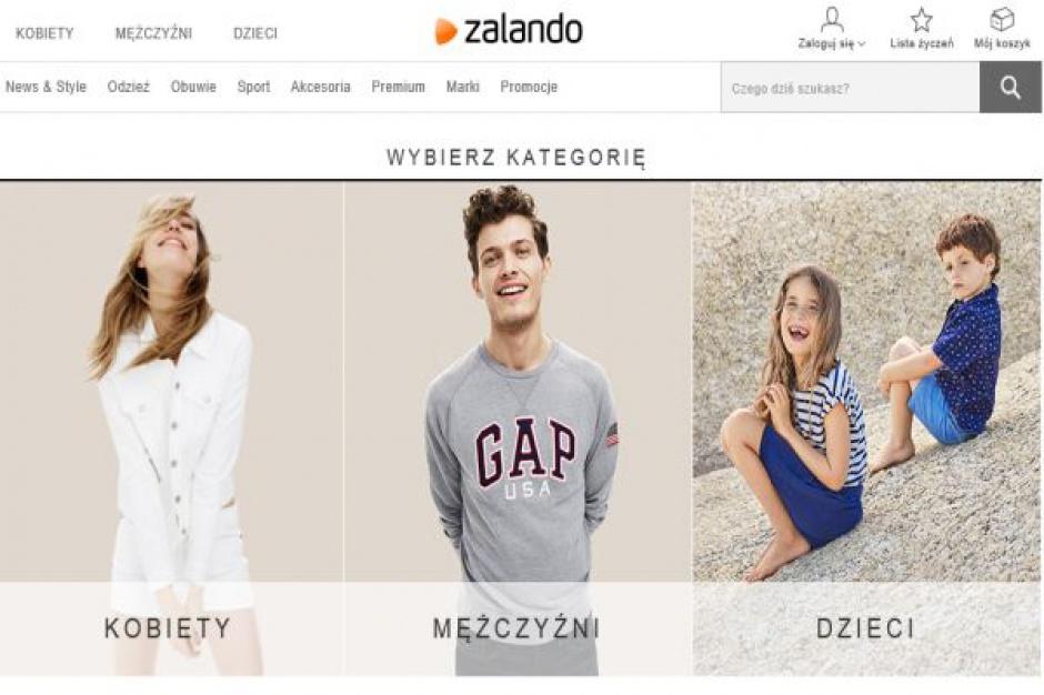 W I poł. 2015 roku Zalando miało przychód na poziomie 1,38 mld euro