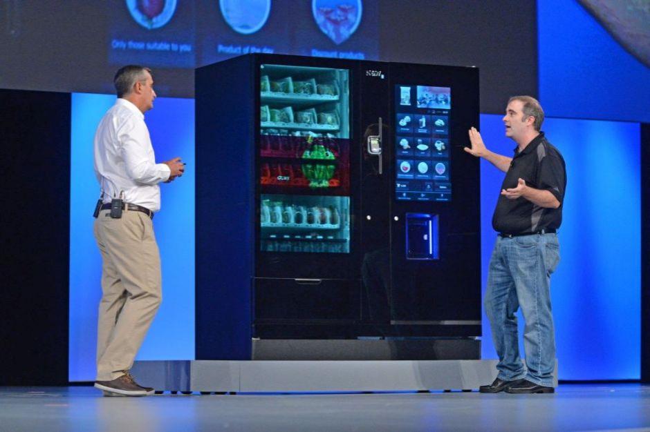 Inteligentny automat pomoże w wyborze napoju