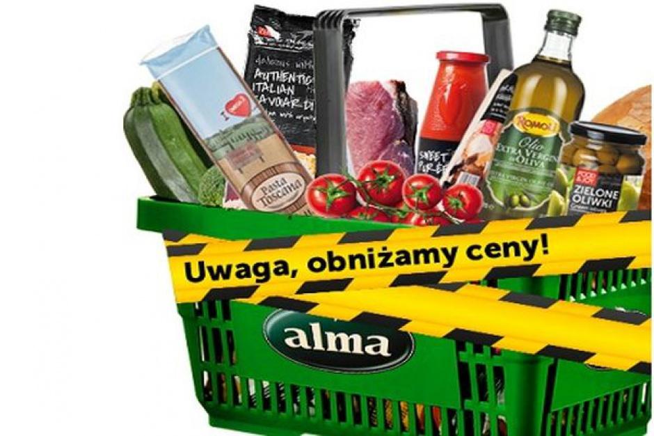 Alma Market zamknęła trzy nierentowne sklepy. Nie wyklucza dalszych działań
