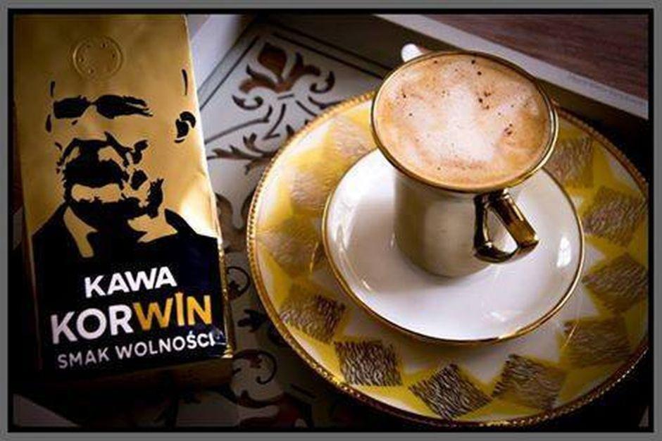 Po napoju energetycznym w ofercie sklepu Korwin pojawiła się kawa