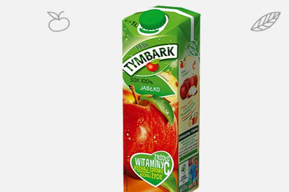 Tymbark promuje sok jabłkowy