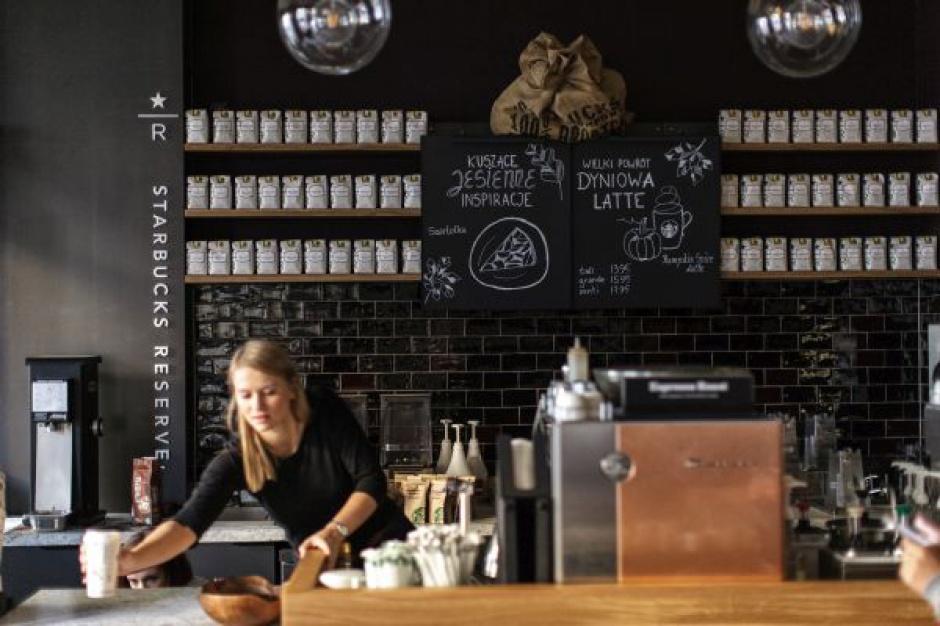 Pierwsza kawiarnia Starbucks Reserve w Warszawie