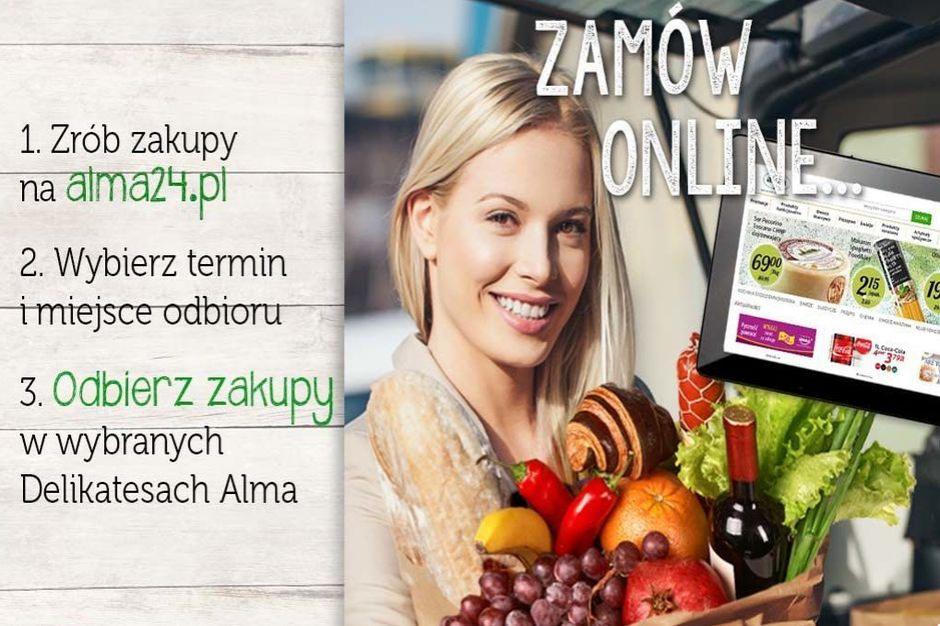 Alma promuje usługę click&collect