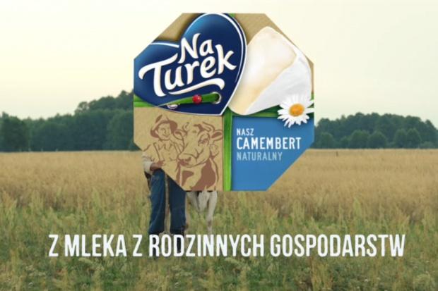 Nowa wersja sera NaTurek Nasz Camembert promowana w telewizji i internecie