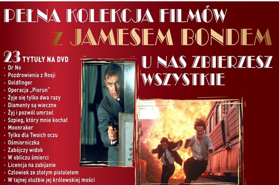 Nowy Bond wchodzi do kin. Lidl reaguje i wprowadza do sprzedaży kolekcję filmów o agencie 007
