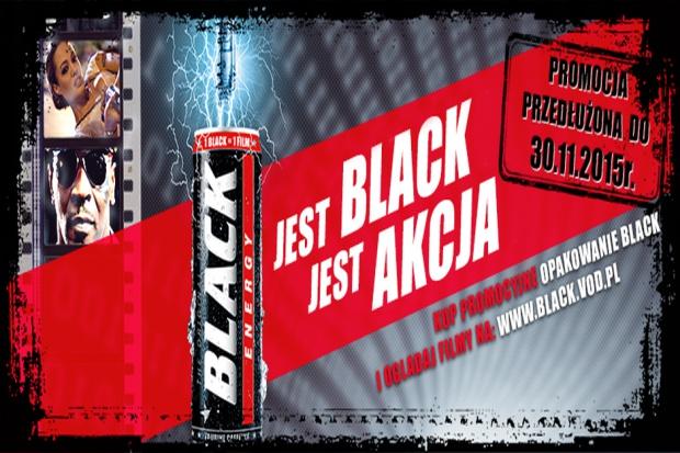 Trwa promocja filmowa Black Energy Drink
