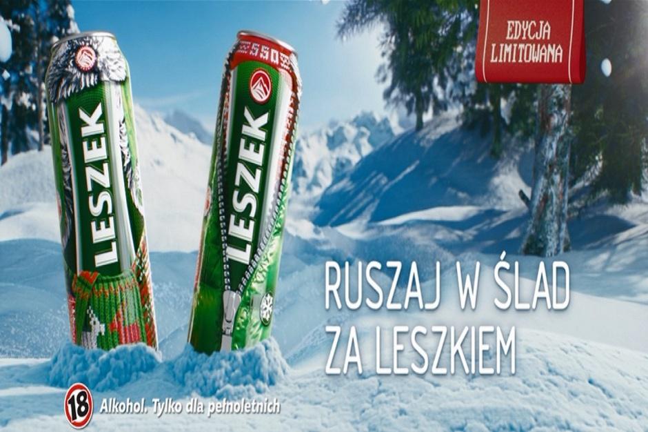 Zimowa odsłona ogólnopolskiej kampanii Lecha Premium
