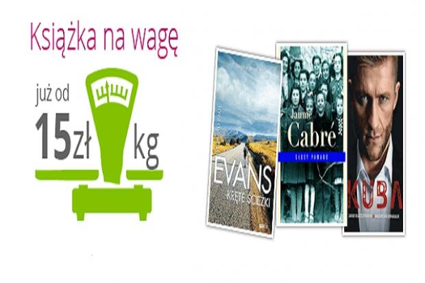 Ravelo.pl sprzedaje książki na wagę