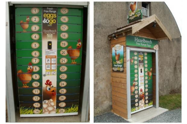Jaja z automatu vendingowego