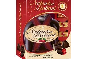 Nalewka Babuni z czekoladkami