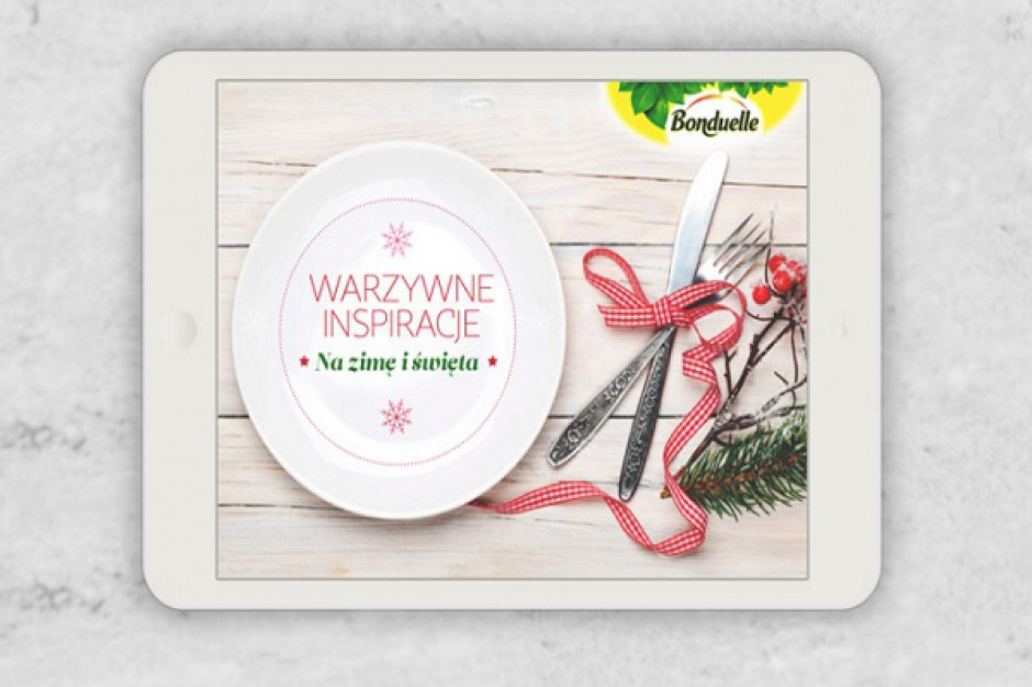 Świąteczny e-book od marki Bonduelle