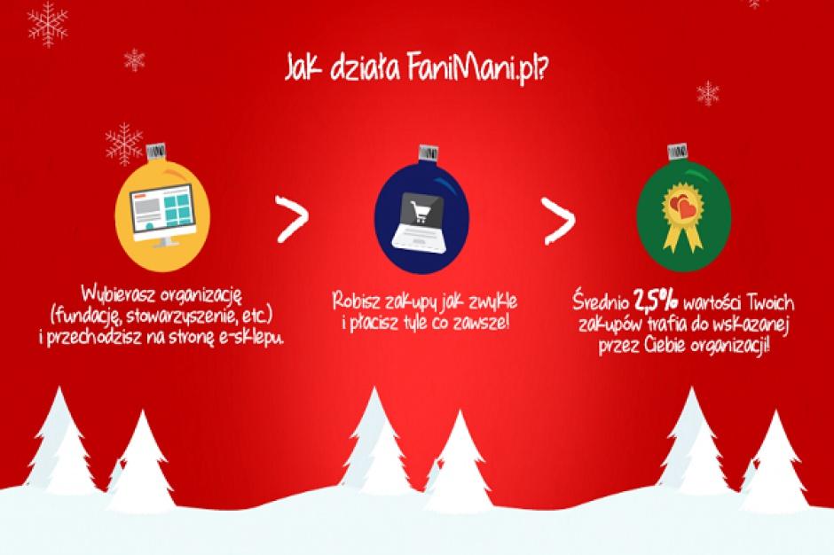 Sklep online umożliwia wspieranie celów społecznych podczas zakupów