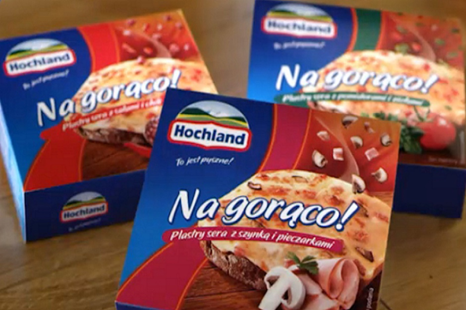 Hochland wspiera sprzedaż serów na gorąco