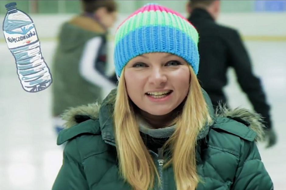 Katarzyna Bujakiewicz zachęca do udziału w konkursie Nałęczowianki