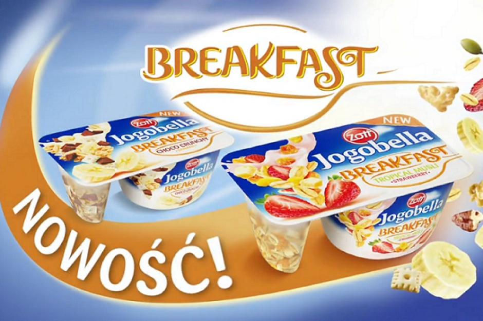 Zott wspiera sprzedaż jogurtu Jogobella Breakfast