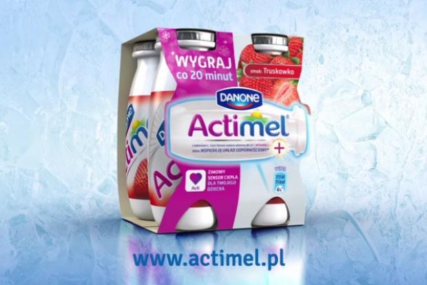 Danone wspiera sprzedaż jogurtu Actimel loterią konesumencką