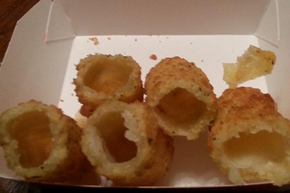 Rarytas w amerykańskim McDonald's: Paluszki z mozzarellą bez...mozzarelli