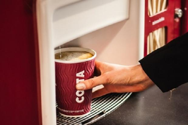 Sieć Costa Express liczy 200 maszyn.Za 5-6 lat będzie ich ok. 550-600