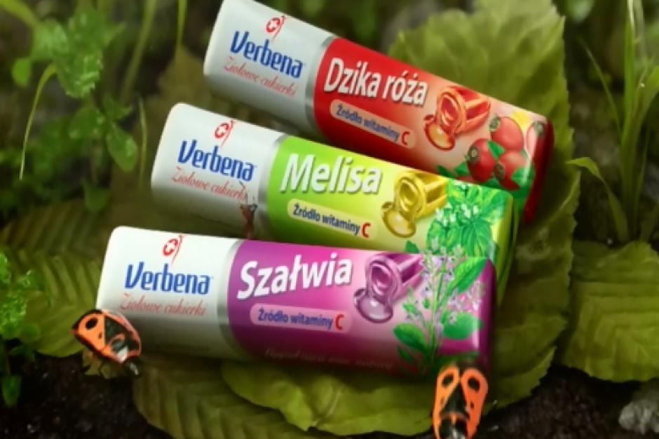 Cukierki Verbena z kampanią reklamową