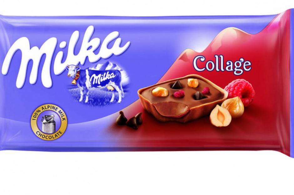 Czekolady Milka Collage