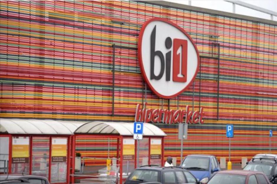 Hipermarket Bi1 w Białymstoku - zobacz następcę Reala (video)
