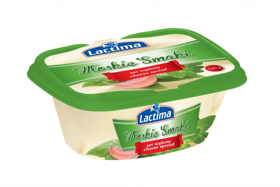 Sery topione Lactima w nowej szacie graficznej