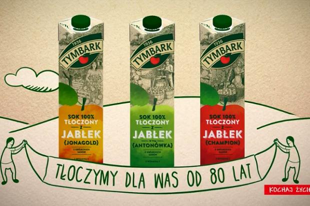 Jubileuszowa kampania soków Tymbark