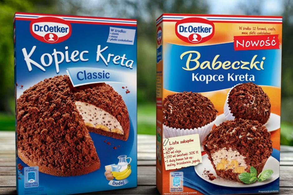 Dr. Oetker wspiera sprzedaż ciast Kopiec Kreta