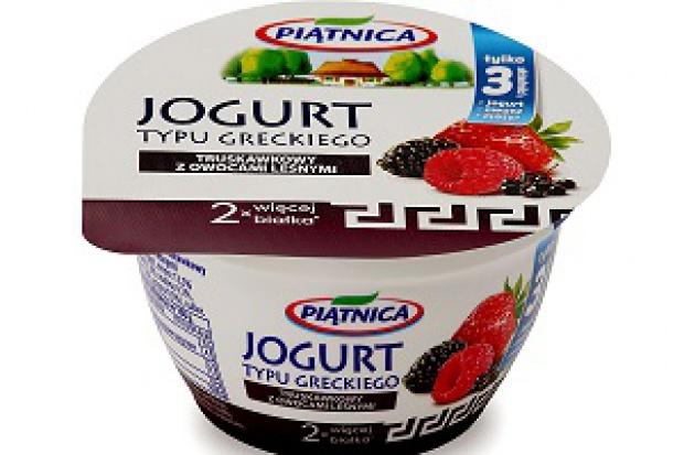 Owocowe jogurty typu greckiego od Piątnicy