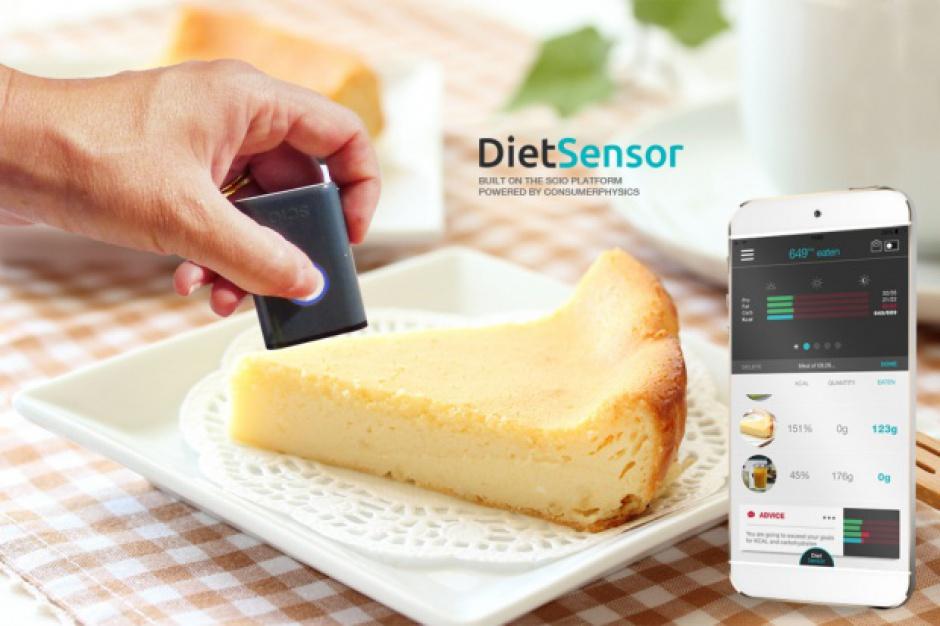 Aplikacja DietSensor w kilka sekund zbada wartość energetyczną posiłku