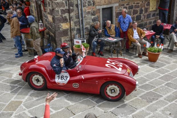 Cisowianka Perlage partnerem rajdu Mille Miglia