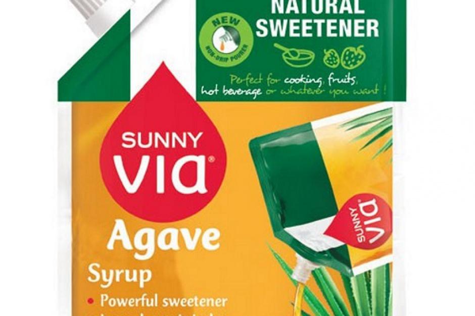 Naturalny syrop z agawy Sunny Via