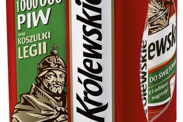 Ruszyła loteria piwa Królewskie, do wygrania koszulki Legii Warszawa