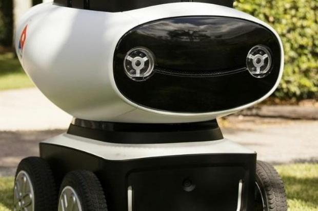 Robot dostawcą pizzy Domino's