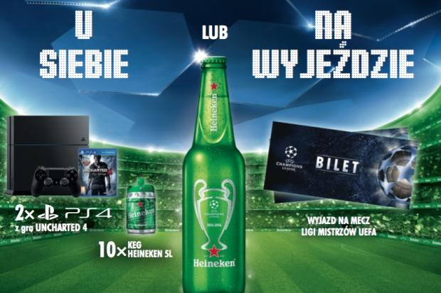 Wyjazdy na mecze Ligi Mistrzów w loterii Heinekena